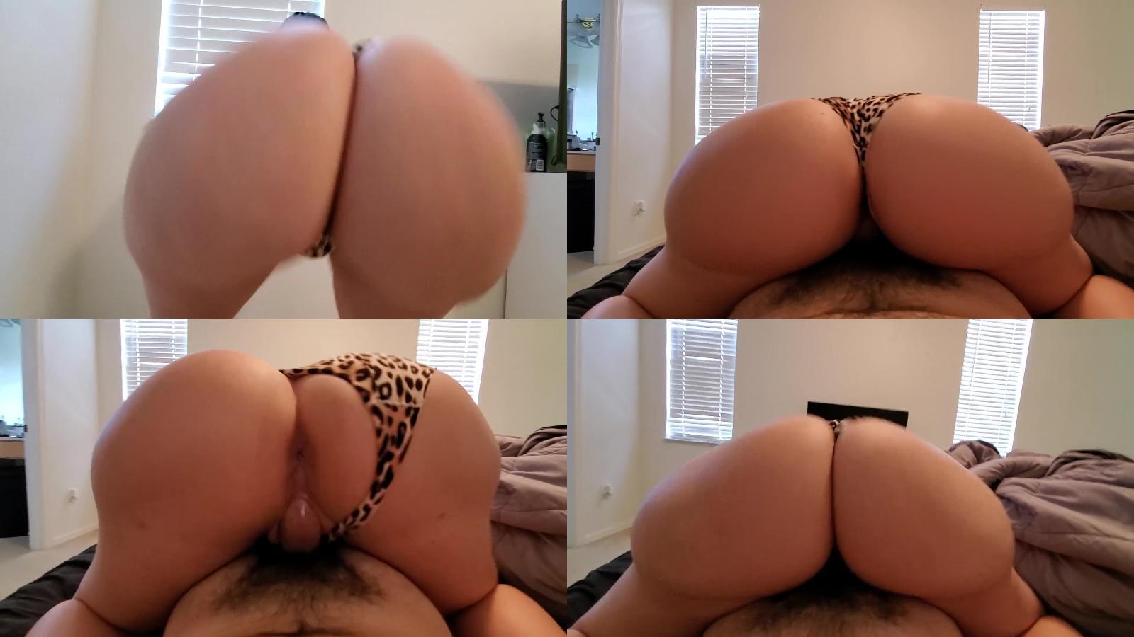 Crystal Lust – Big Booty PAWG Crystal Lust Twerking and Fucking in Panties #1