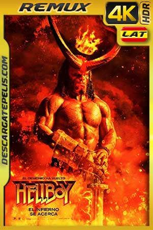 Hellboy 2019 BD4K Remux Latino – Inglés
