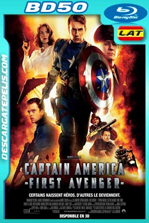 Captain America. The first avenger 2011 3D BD50 Latino