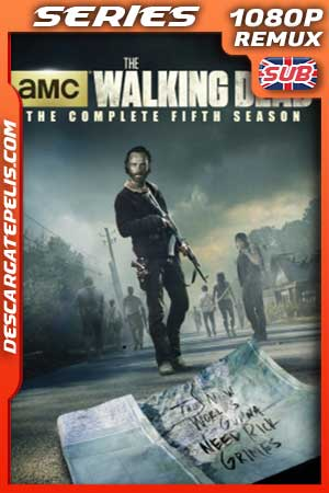 The walking dead. Season 5 BDRemux Subtitulado