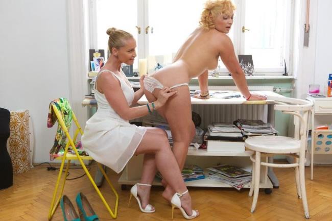 AGirlKnows.com PorndoePremium.com: BBW Lana and Kathia Nobili eat pussy in a designer office Starring: Lana and Kathia Nobili