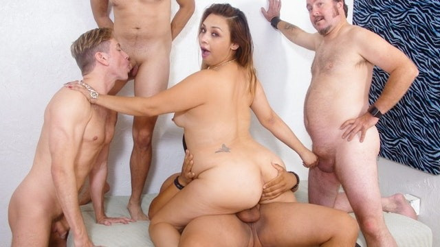 WhiteGhetto: Hot BBW Girl Gets DP Gangbanged With Her Bisexual BFF Starring: Unknown