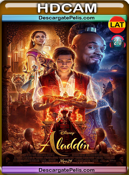 Aladdin 2019 NEW HDCAM Latino – Inglés