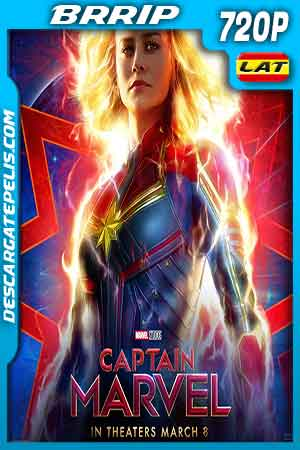 Captain marvel 2019 720p BRrip Latino – Inglés