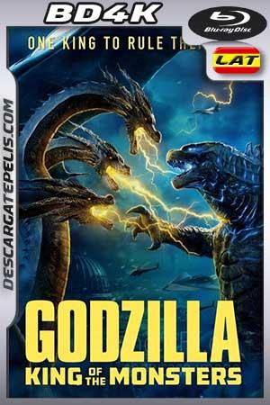 Godzilla. El rey de los monstruos 2019 BD4K Latino