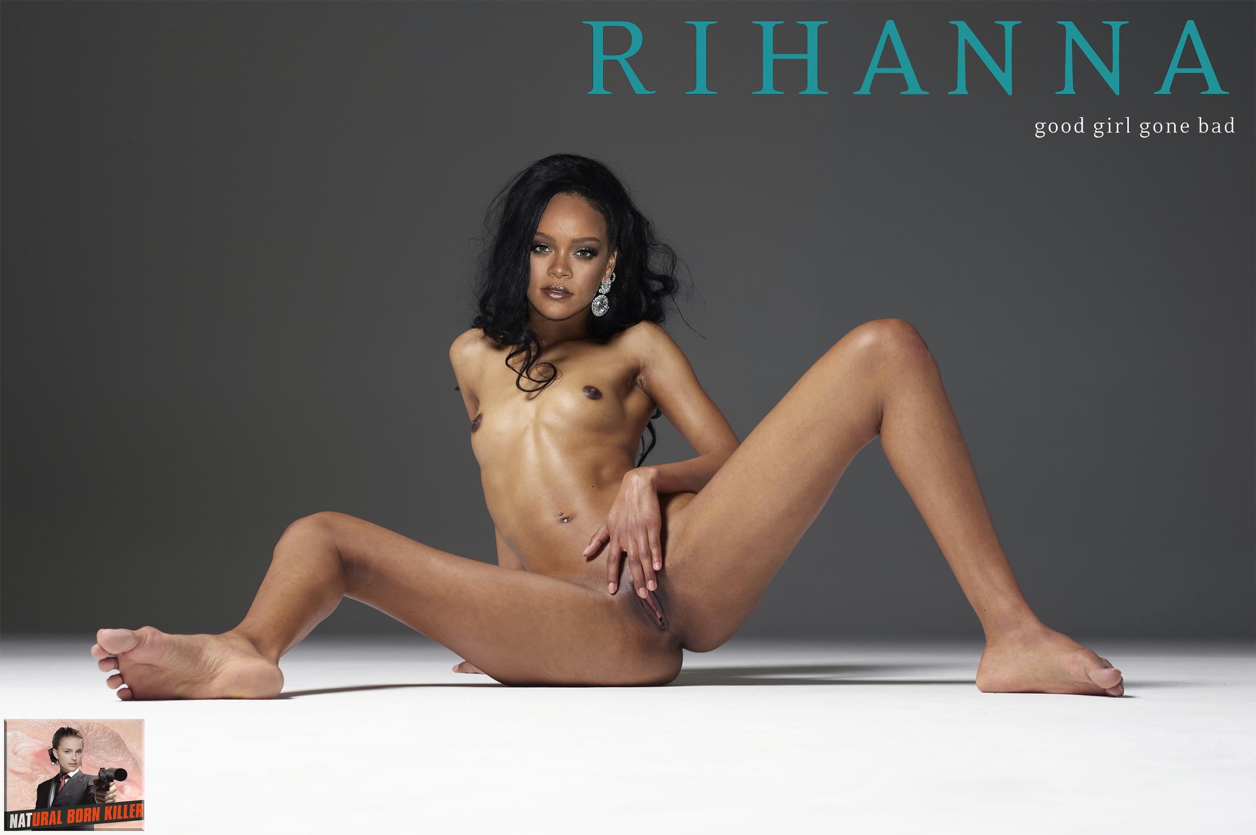 Rihanna Nude Pussy