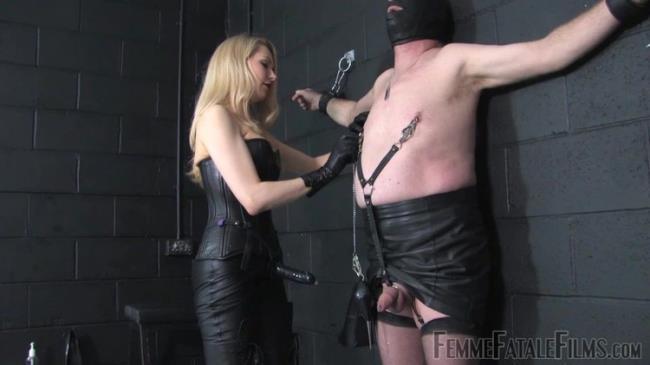 FemmeFataleFilms: Leather Slave - Super Hd - Complete Film Starring: Mistress Eleise De Lacy