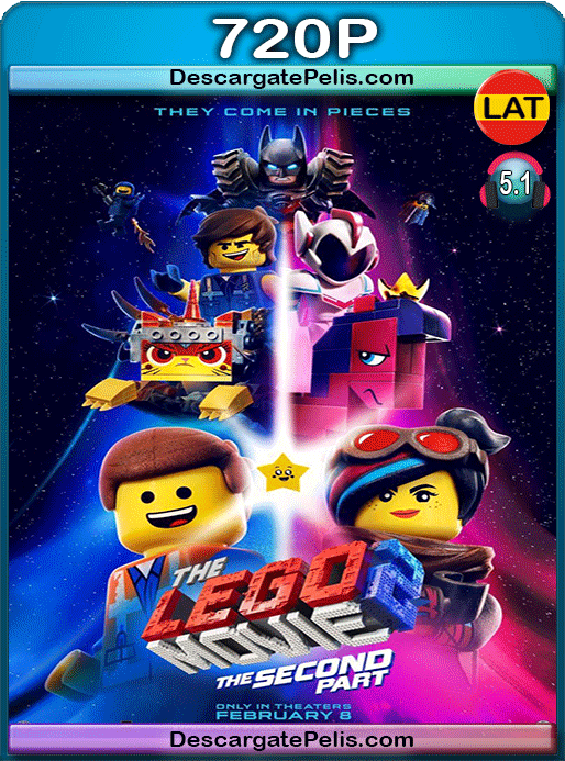 The lego movie 2. The second part 2019 720p BRrip Latino – Inglés