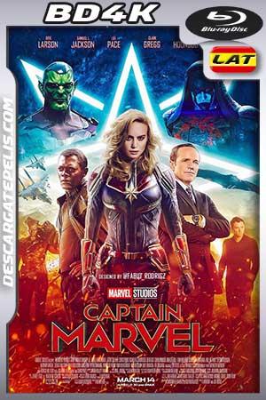 Captain Marvel 2019 BD4K Latino