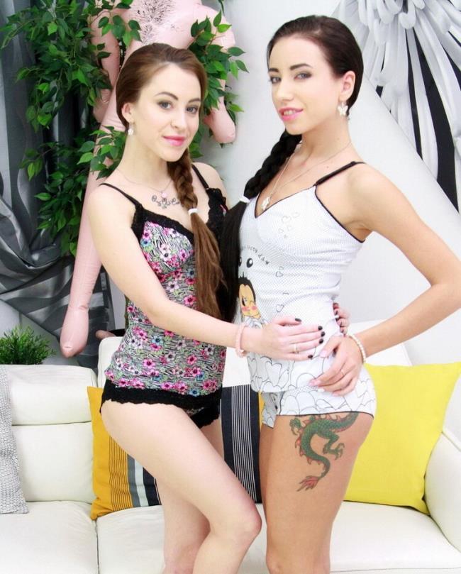 LegalPorno.com: Russian anal slut Sandra Luberc, Lola Bulgari in hot foursome with double penetration SZ1578 Starring: Sandra Luberc