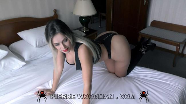 WoodmanCastingX.com PierreWoodman.com: Hard - My first DAP with 2 men Starring: Vittoria Dolce