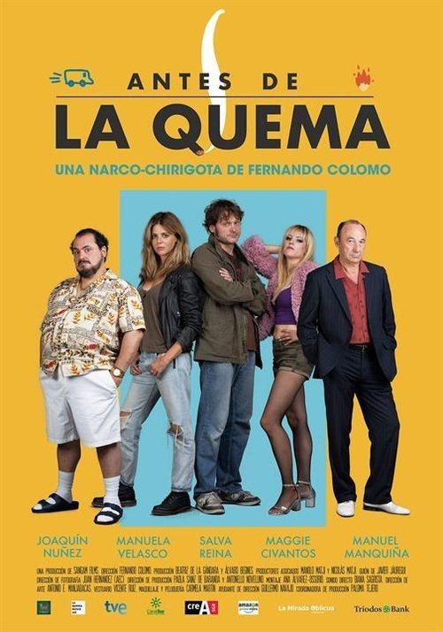 Bo pójdzie z dymem / Antes de la quema (2019) 480p.Blu-Ray.AC3 5.1.Castellano