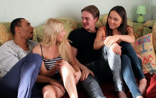 Nataly Gold - Cream and Coffee Home Sex Party (2020 YoungSexParties.com) [HD   720p  678.67 Mb]