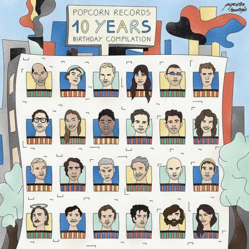 Popcorn Records 10 Years Birthday Compilation (2021)