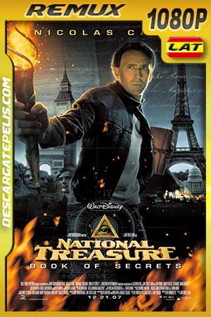 National treasure II. Book of secrets 2007 BDRemux Latino – Inglés