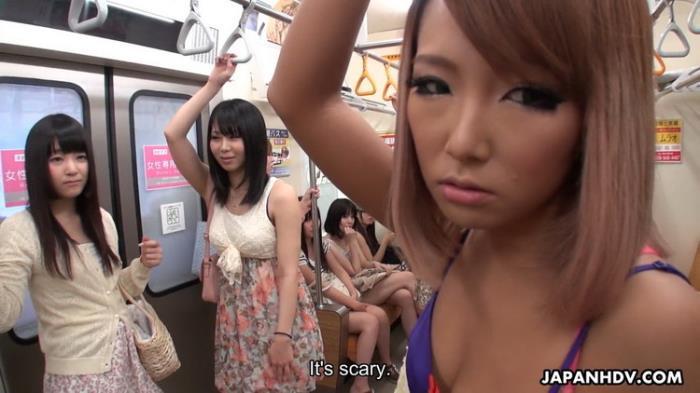 Mikan Kururugi - Mikan Kururugi and Tsuna Kimura in train fuck (2021 JapanHDV.com) [FullHD   1080p  1.96 Gb]