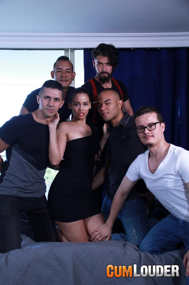 CumLouder.com: Amaranta Hanks Porn Casting Starring: Amaranta Hank