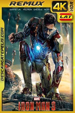 Iron Man 3 2013 BD4K Remux Latino – Inglés