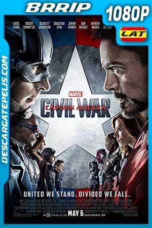 Captain America. Civil war 2016 1080p BRrip Latino – Inglés