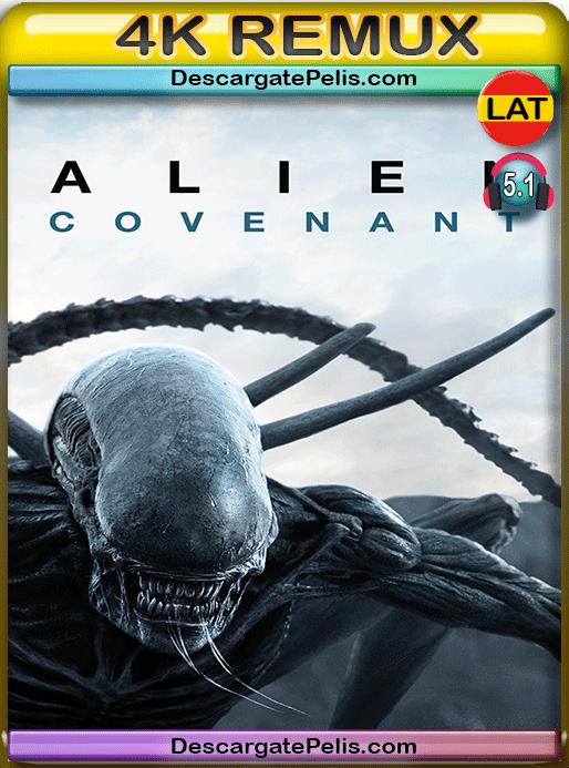 Alien covenant 2017 BD4K Remux Latino – Inglés