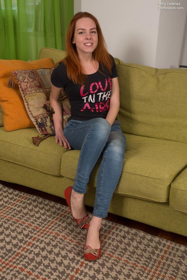 Defloration.com: Losing of Virginity Starring: Amy Ledenez