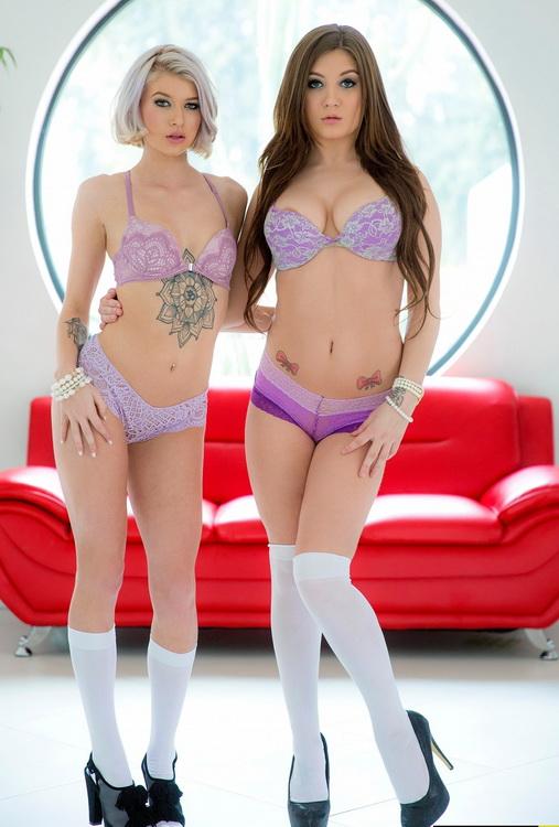 ScrewBox.com: Bad Girls Starring: Arya Fae