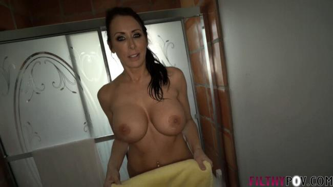 Reagan Foxx - My Mom Gets Me Hard And Makes Me Fuck Her in the Bathroom (2020 FilthyPov Clips4sale.com) [2K UHD   2160p  1.6 Gb]
