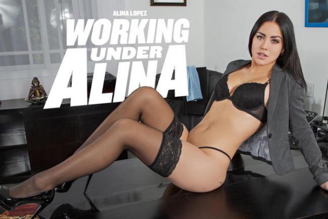 Alina Lopez - Working Under Alina (2021 BaDoinkVR.com) [2K UHD   2048p  4.66 Gb]