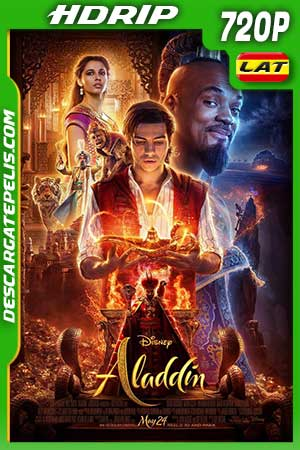 Aladdin 2019 720p HDrip Latino – Inglés
