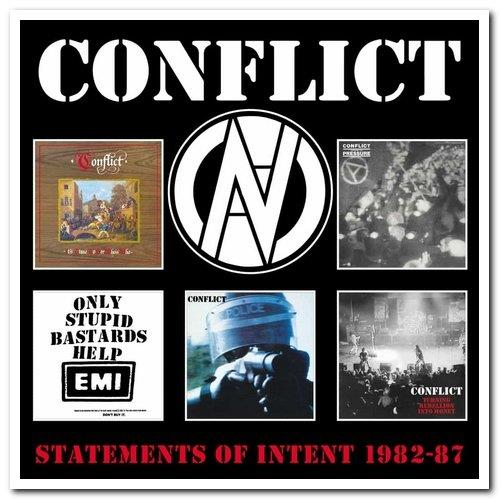 Conflict - Statements Of Intent 1982-87 (2021) FLAC