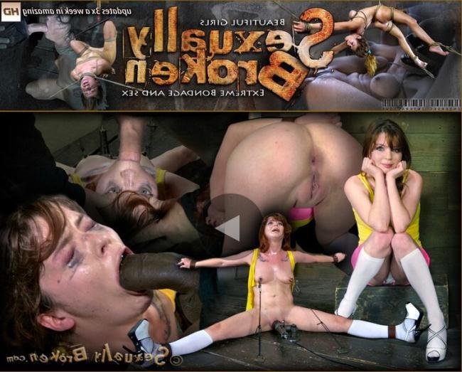 Jessi Palmer - Tiny 4'10 Jessi Palmer gets face fucked into oblivion, huge black cock, devastating orgasms! (2021 SexuallyBroken.com) [HD   720p  1.32 Gb]