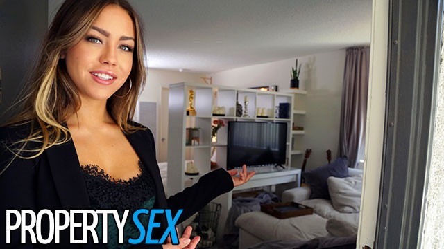 PropertySex: Real Estate Agent gets Horny and Makes Sex Video with Client Starring: Alina Lopez