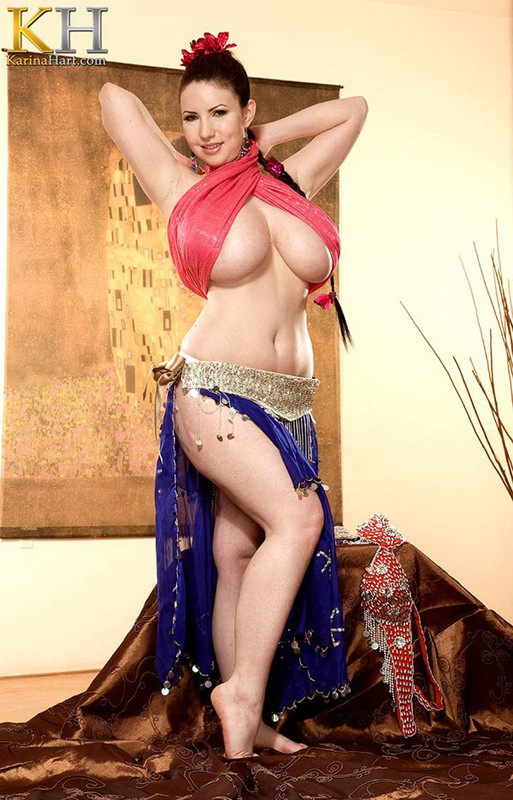 KarinaHart.com: Private Belly Dancer Starring: Karina Hart
