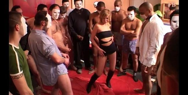 French-Bukkake: Bukkake Starring: Orlane