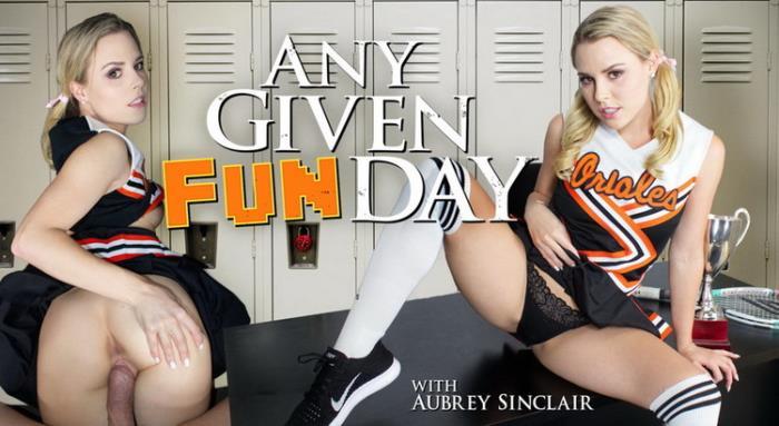 Aubrey Sinclair - Any Given Funday (2021 WankzVR.com) [2K UHD   1600p  4.75 Gb]
