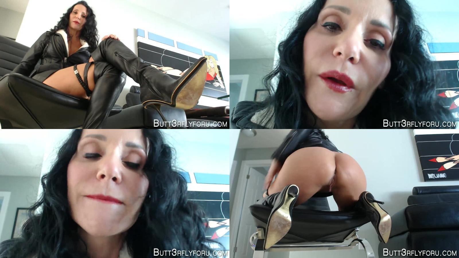 Butt3rflyforU – Strict Cum Control Milf Wearing All Leather