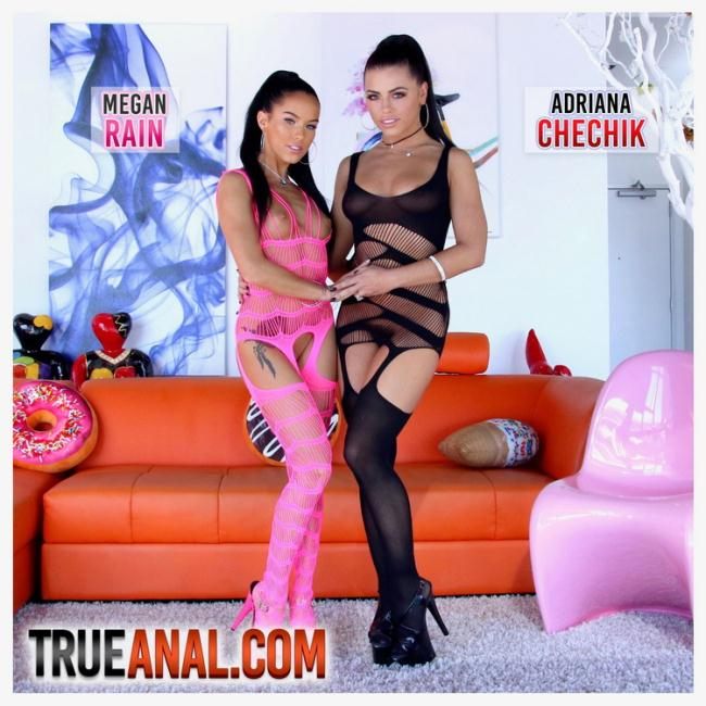TrueAnal.com: Anal And Squirting Fun With Adriana And Megan Starring: Adriana Chechik