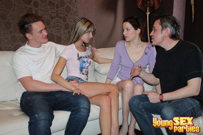 Masha - Sharing girlfriends is fun (2020 YoungSexParties.com) [HD   720p  592.26 Mb]