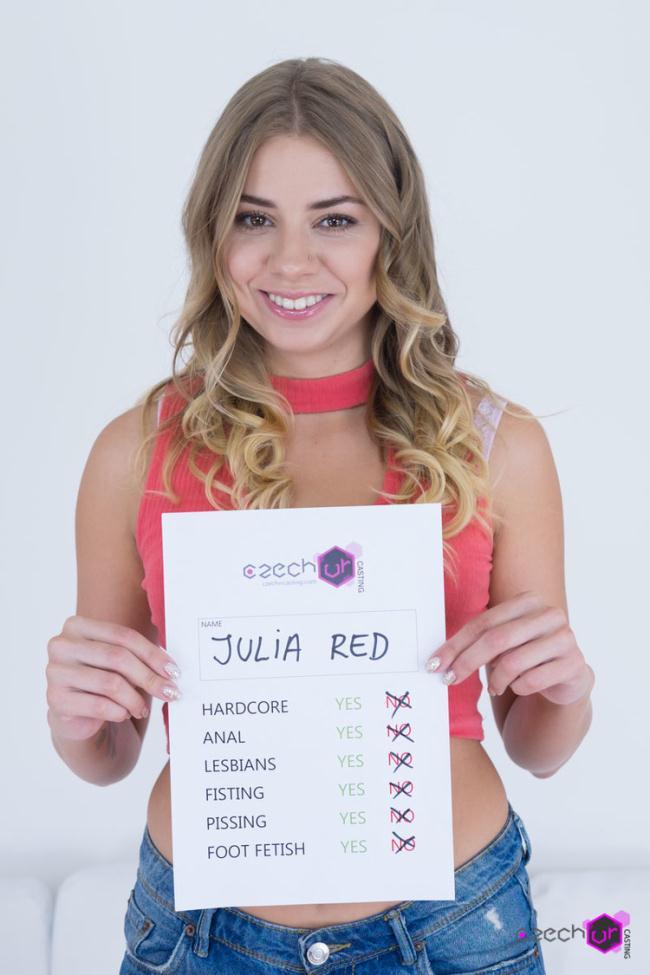 Julia Red - She Swallows (2020 CzechVRCasting.com CzechVR.com) [2K UHD   1440p  3.76 Gb]