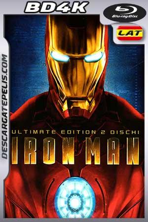 Iron Man – El hombre de hierro 2008 BD4K Latino