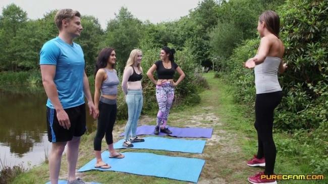PureCFNM.com: Outdoor Yoga Starring: Emma Leigh
