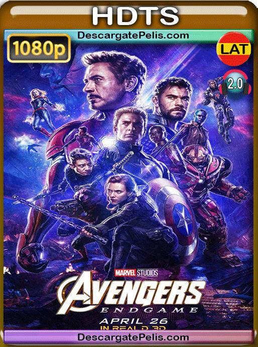 Avengers. Endgame 2019 1080p HC HDTS Latino – Inglés