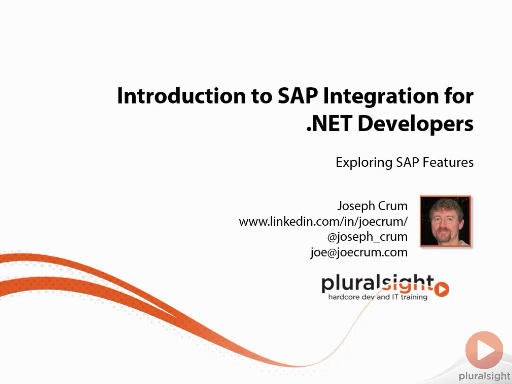 Pluralsight Introduction to SAP Integration for .NET Developers 2014 TUTORiAL