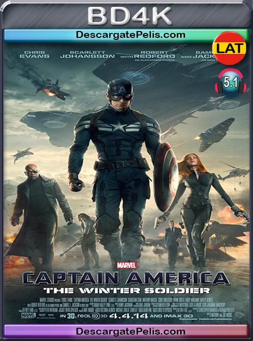 Captain America. The winter soldier 2014 [BD4K] [Latino]