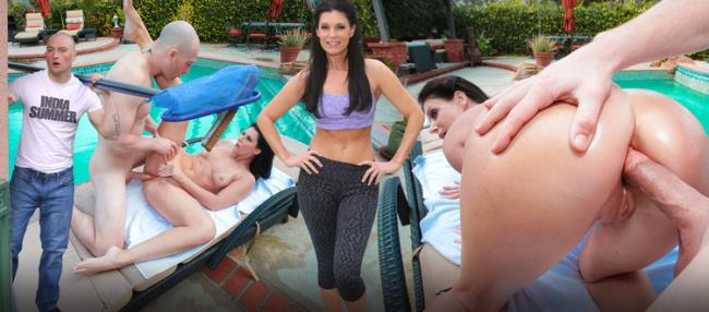 India Summer - Poolside Anal Sex With MILF India Summer (2020 SheDoesAnal.com) [FullHD   1080p  808.05 Mb]