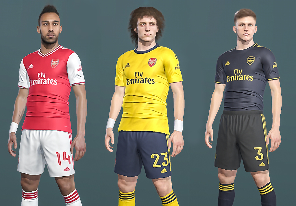 PES2018 & PES 2019 | ARSENAL KIT 2019/2020 (ADIDAS) v1.0.0