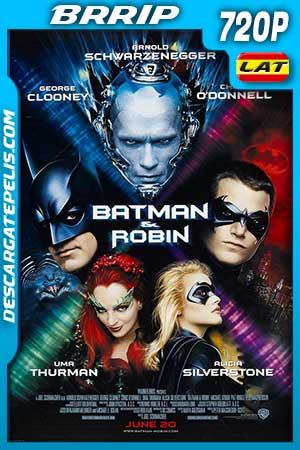 Batman and Robin 1997 720p BRrip Latino – Inglés