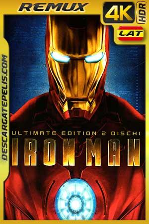 Iron Man – El hombre de hierro 2008 BD4K Remux Latino – Inglés