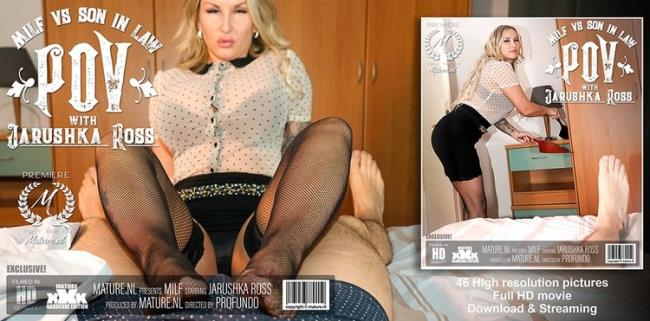 Mature.nl: Hot MILF sucking and fucking her son in law in POV style Starring: Jarushka Ross (36)