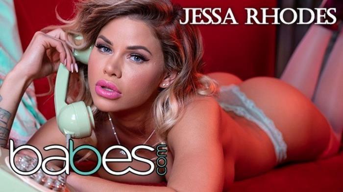 Jessa Rhodes - Big Tit Phone Sex Operator Jessa Rhodes Rides BBC in Pink Stocking (2021, Babes) [FullHD   1080p  426.04 Mb]